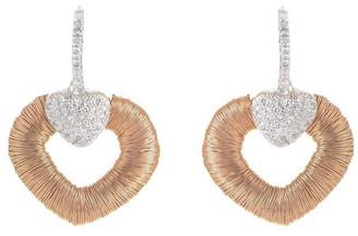 Heritage Yoel Yoel 18K Two-Tone 0.40 Ct. Tw. Diamond Earrings