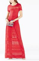 BCBGMAXAZRIA Sydnie Sheer Dress