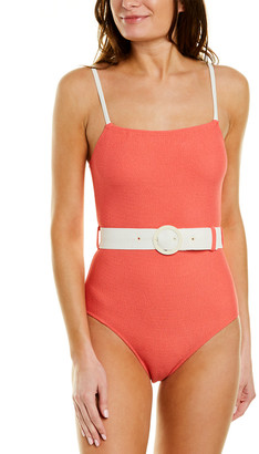 Solid & Striped The Nina Belted One-Piece