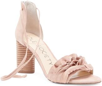 Sole Society Tevony Lace-Up Sandal