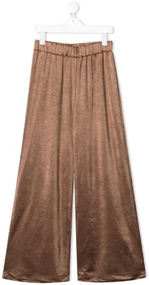 Caffe' D'orzo Veronica wide-leg trousers