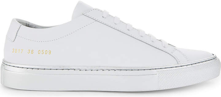 Common Projects Achillies leather low-top trainers