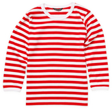 Marimekko Lasten Pitkahiha Striped Cotton T-Shirt
