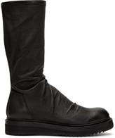 Rick Owens Black Creeper Sock Boots