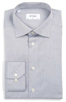 Eton Men's Slim Fit Micro Dot Dress Shirt