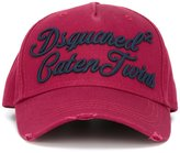DSQUARED2 Caten Twins cursive baseball cap - men - Cotton - One Size