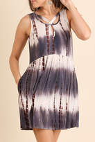 Umgee USA Tie Dye Pocket Dress