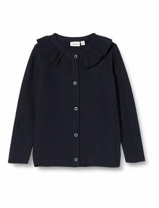 Name It Girl's Nmftherla Ls Knit Card Cardigan Sweater