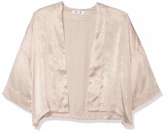 BB Dakota Women's Lil Kim-ONO Washed Satin Cropped Jacket