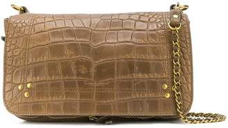 Jerome Dreyfuss Bobi crocodile-effect shoulder bag