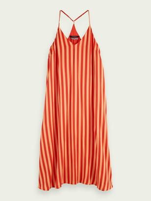 Scotch & Soda Printed sleeveless slip dress | Women