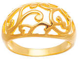 Bliss Gold-Plated Filigree Ring