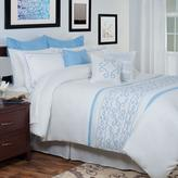 Isabella White 14-Piece King Embroidered Comforter Set