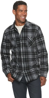 Men's Anchorage Expedition Sherpa Lined Fleece Shirt Jacket