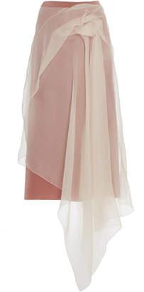 Sies Marjan Nadine Asymmetrical Crepe Skirt Size: 0