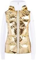 Fendi Metallic Panel Down Jacket