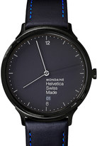 Mondaine Mh1.l2222.lb helvetica no1 light new york edition stainless steel watch