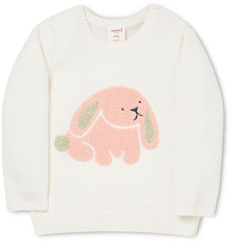 Seed Heritage Chenille Bunny Sweater