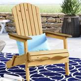Beachcrest Home Lissette Folding Adirondack Chair