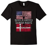 Funny Danish Roots T-shirt Based In Denmark Pride Quote