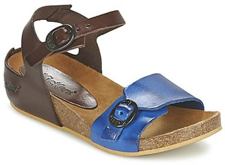 Kickers BOMBOM girls's Sandals in Brown