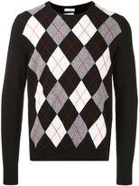 Valentino argyle jumper - men - Virgin Wool - S