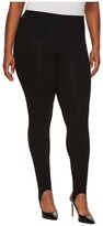 Hue Plus Size Cotton Stirrup Leggings Women's Casual Pants