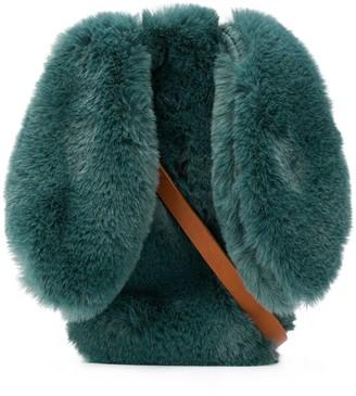 Il Gufo Faux Fur Shoulder Bag