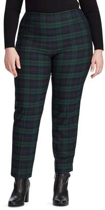 Chaps Plus Stretch Cotton-Blend Pant