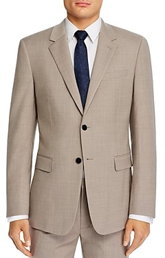 Theory Chambers Textured Solid Slim Fit Suit Jacket