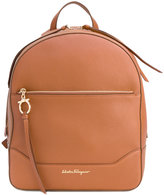 Salvatore Ferragamo Samy backpack - women - Leather/Polyester - One Size