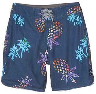 Rip Curl Kids Mirage Hideaway Boardshorts (Big Kids) (Navy) Boy's Swimwear