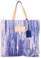 Reed Krakoff Leather-Trimmed Printed Tote