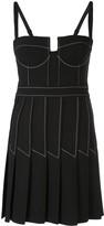 Dion Lee Column Pleat Mini Dress