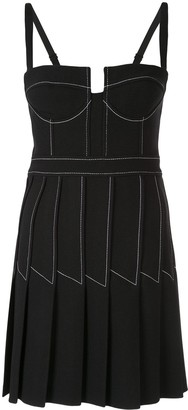 Dion Lee Column Pleat Mini Dress