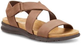 Eastland Womens Cilla Criss Cross Strap Flat Sandals