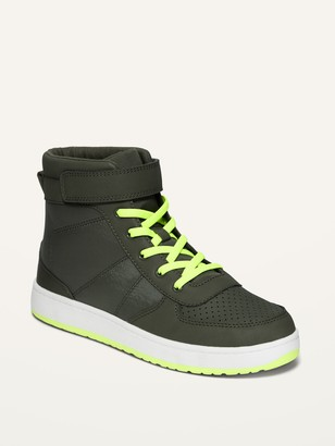 Old Navy Secure-Close Color-Blocked High Tops for Boys