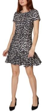 Betsey Johnson Flounce Mini Dress