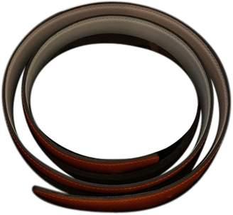 Hermes H Orange Leather Belts