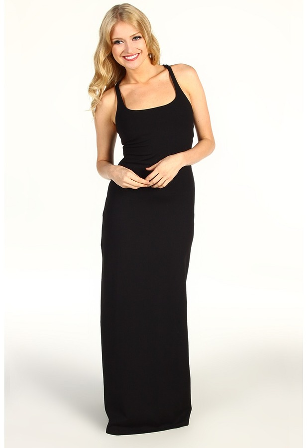 Susana Monaco Racer Maxi Dress (Black) - Apparel