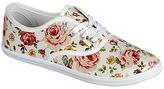 Refresh White Floral Lemon Sneaker