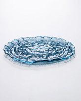 Annieglass Indigo Platter