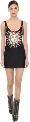 Fausto Puglisi Printed Stretch Lycra Mini Dress