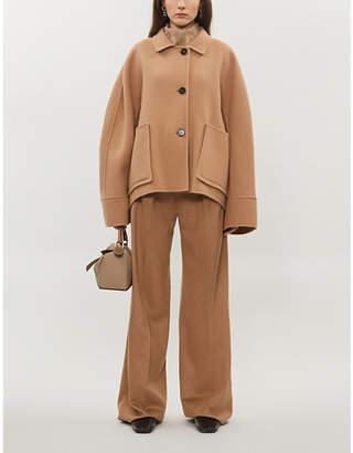 Jil Sander Lambert raglan-sleeve wool and cashmere-blend jacket