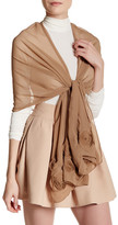 Cejon Sheer Rosette Wrap