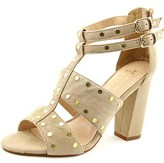 Nicole Miller Jagger Women Open Toe Suede Sandals.