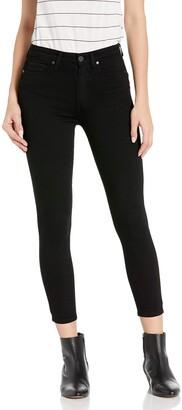 Paige Women's Margot Transcend High Rise Skinny Fit Crop Jean