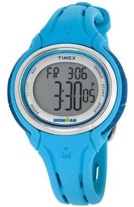 Timex Ironman Sleek 50 Grey Dial Silicone Strap Ladies Watch TW5K90600