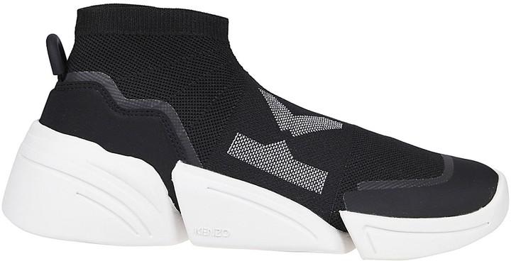 Kenzo K-logo sock trainers - ShopStyle