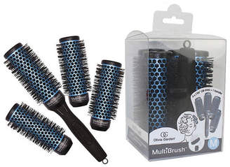 Olivia Garden Multi Brush MBKP36 with Handle, 5 Piece Kit